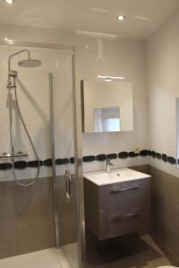 salle de bain tournesol