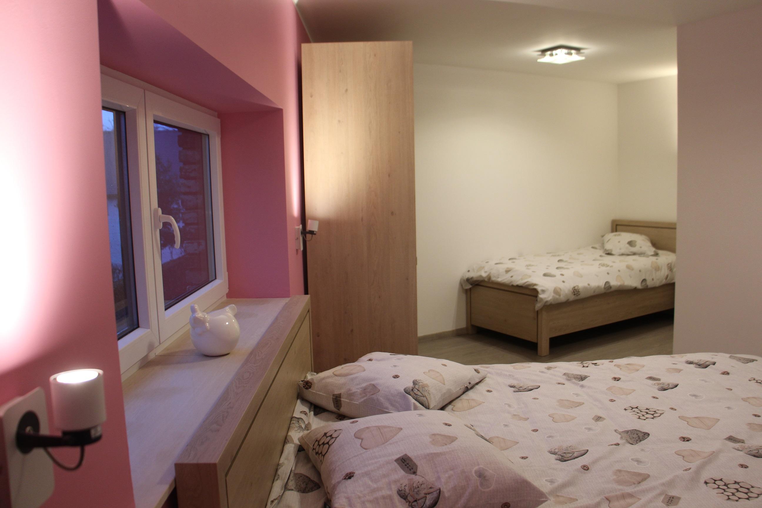 Chambre lilas 3P